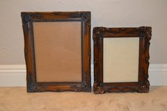 2 Ornate Wood Picture Frames in Alamogordo, New Mexico
