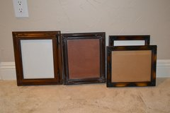 4 Wooden picture frames in Alamogordo, New Mexico