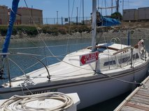 1973 27'foot Catalina Sailboat in Camp Pendleton, California