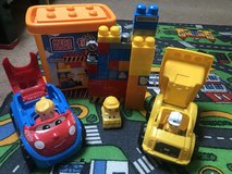 Mega bloks toys and train in Lakenheath, UK