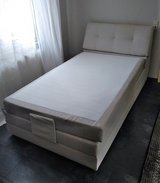 Like New Full Size Pedestal Bed with Eletronically Adjustable Incline System in Ramstein, Germany