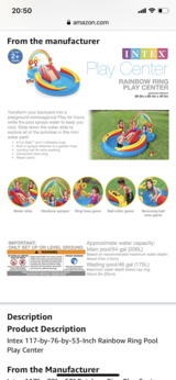 Rainbow Ring Inflatable Play Center in Wiesbaden, GE