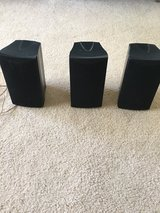 3 Barely Used Surround Sound Speakers in 29 Palms, California