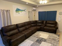 Ashley 6 piece reclining sectional in Okinawa, Japan