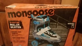 New Mongoose Roller Skates, Adjustable Size 1 to 4 in Naperville, Illinois