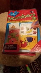 Number Jigsaw Flash Cards in Yorkville, Illinois