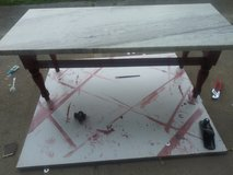 granite coffee table w/2 end takes in Camp Lejeune, North Carolina