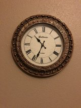 Wall clock in Tomball, Texas