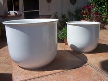 Planters, Porcelain (Set of 2) in Ramstein, Germany