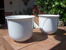 Two Porcelain Planters in Ramstein, Germany