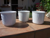 Planters, Porcelain (Set of 3) in Ramstein, Germany