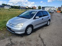 Honda Civic manual New   Inspektion 2003 only 79.000 miles AC. in Ramstein, Germany