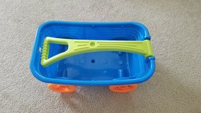 Blue Toddler Toy Wagon w/Orange Wheels in Fort Campbell, Kentucky