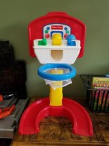 Infant/Toddler Fisher-Price Baby Basketball Hoop & Balls in Fort Campbell, Kentucky