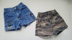 Boys Wrangler/Carter's Elastic Waist Shorts, Size 12M in Fort Campbell, Kentucky