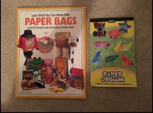 NEW Look What You Can Make With Paper Bags book and NEW Paper Orgiami book in Camp Lejeune, North Carolina