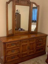 Dresser with mirror in Travis AFB, California