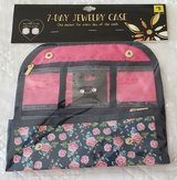 7 Day Jewelry Case with CZ Studs Floral Print in Fort Benning, Georgia