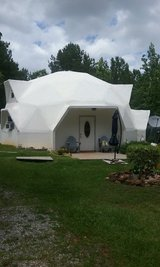 Our home is a cement geodesic dome. It is fire proof, and can sustain winds up to 225 mph. in Fort Benning, Georgia