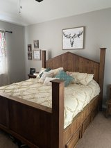 King size bedroom set in Kingwood, Texas