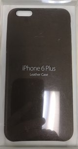 original Apple iPhone 6/6S Plus Leather Case (new unopened) in Okinawa, Japan