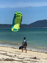 Come enjoy kiteboarding lessons  Very easy to progress .  Very fun  rewording waterspot .  Pleas... in Okinawa, Japan