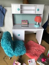 Baby Doll Desk and accessories in Warner Robins, Georgia