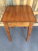Square Solid Wood Top Table with Shaker Legs in Beaufort, South Carolina