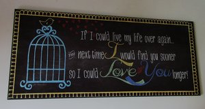 Wall Plaque Decor  Theme Love in Fort Campbell, Kentucky