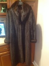 Full Length Mink Coat with Hood in St. Charles, Illinois