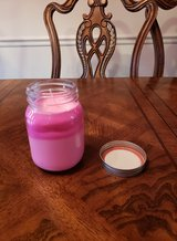 2 TONE STRAWBERRY CANDLE WITH JEWELRY INSIDE in Fort Campbell, Kentucky