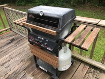older style cast aluminum 2 burner gas grill in Cherry Point, North Carolina