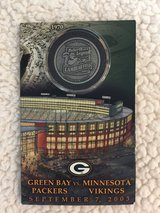 Green Bay Packers Collector Item in Naperville, Illinois