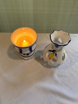 Candle Holder & Candle in Okinawa, Japan