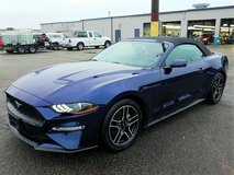 2019 Ford Mustang Premium ECOBOOST Convertible in Spangdahlem, Germany