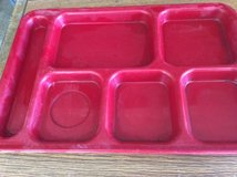 Food Trays Hard Plastic case of 25 in Lackland AFB, Texas