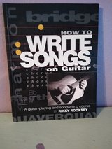 Guitar songwriting instructional book in Kingwood, Texas