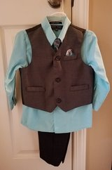 New! Boys Andrew Fezza 4-Piece Dressy Set, Size 24M in Clarksville, Tennessee