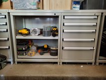 Heavy duty work bench with 5 drawers and 2 shelves in Camp Pendleton, California