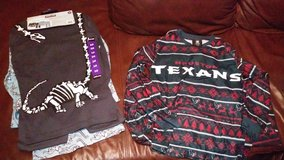 Boys size 10 pj sets in The Woodlands, Texas