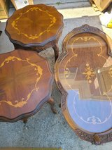 Coffee table and 2 side tables in Cleveland, Texas