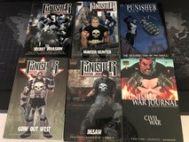 Punisher: war journal graphic novel hardcover lot x6 books in Okinawa, Japan