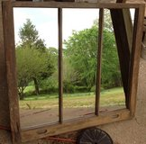 Antique Double Hung Window with Mirrors- 7. ca. 1920 in Fort Campbell, Kentucky