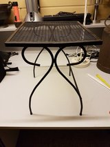 Small Metal Black Table in Ramstein, Germany