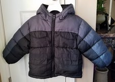 Boys Black/Grey Winter Coat, Size 24M in Clarksville, Tennessee
