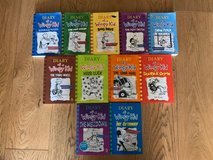 Diary of a Wimpy Kid Set (11 Books) in Lakenheath, UK