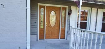Front Door and Sidelights in Algonquin, Illinois