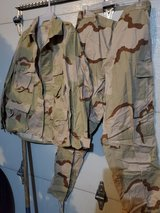 Desert Storm Camo uniform in Fort Leonard Wood, Missouri