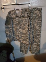 Uniform in Fort Leonard Wood, Missouri