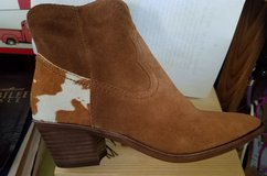 Bootie Suede Cow Hair Short Cowboy Boot Dolce Vita in Clarksville, Tennessee